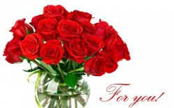 Flowers background inscription white red roses bouquet bright wallpapers image