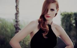 Redhead Girl Actress Jessica Chastain