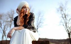 Redhead Girl Fashion