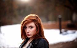 Girl Redhead Look
