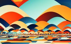 Retro fractal art