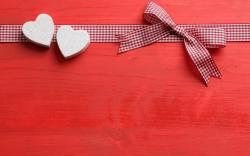 Ribbon Bow Hearts Love