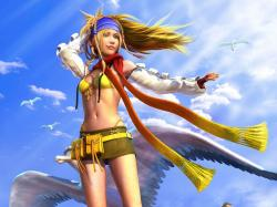 Rikku's makeover for Final Fantasy X-2