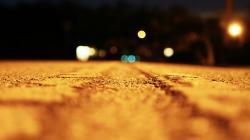 Road Bokeh Wallpaper