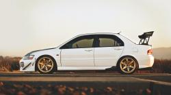 Road Mitsubishi Lancer Evolution Evo Photo