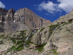 Longs Peak Trail to Chasm Lake, Rocky Mountain National Park