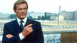 Yes, that's Roger Moore as James bond in the 1980s, but his shirt is timeless. Nice, moderate, crisp spread collar sitting high up his neck. Perfect.