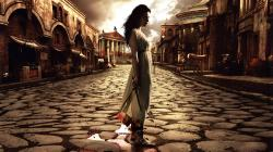 ... girl-in-ancient-rome-wallpaper ...