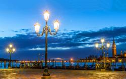 Romantic night in venice