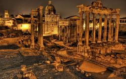 HD Rome Ruins Wallpaper