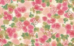 Rose buds art