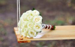 Roses Bouquet Flowers Swing Mood