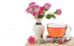 Roses Tea wallpaper