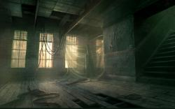 Gary tonge abandoned artwork interior design ruins wallpaper HQ WALLPAPER - (#183127)