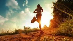 Running Exercise HD Wallpaper