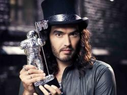 russell brand with mtv space award
