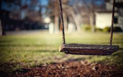 Rustic Swing Wallpaper