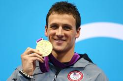 U.S. swimmer Ryan Lochte at the London 2012 Olympic Games Photo: Getty Images