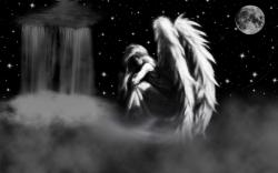 sad angel by kinderitza sad angel by kinderitza