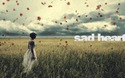Women - Mood Woman Sad Leaf Grass Wallpaper