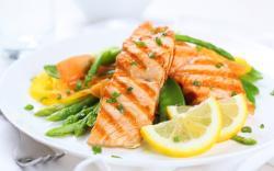 Salmon Salad Wallpaper 42140 1440x900 px