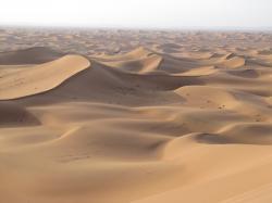 Erg Chigaga. These sand dune ...