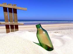 Download Sandy Beach Wallpaper