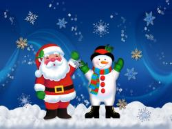 Santa Claus Wallpaper Widescreen