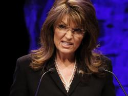 EnlargeFormer vice presidential candidate Sarah Palin addresses attendees at the National Tea Party Convention in Nashville, Saturday, Feb. 6, 2010.