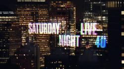 Saturday Night Live (season 40)