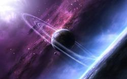 Saturn Clouds Wallpapers