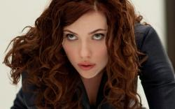 Scarlett Johansson as 'Black Widow' in the new movie 'The Avengers.'