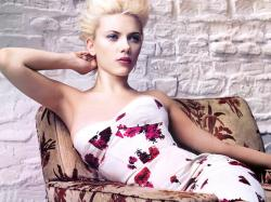 Scarlett Johansson Wallpaper Dress Fashion