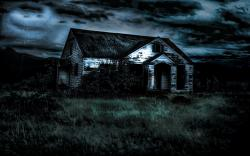 Scary House Backgrounds 18949 1600x900 px