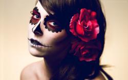 Scary Makeup Wallpaper