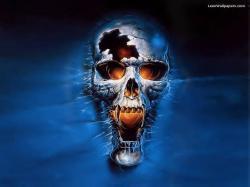 Skulls scary-skull-wallpaper