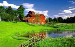 The perfect house in the green scenery wallpaper 1920x1200 Original ...