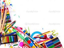 School Supplies Wallpaper 40828 1600x1200 px