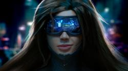 Scifi cyber girl