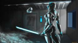 1920x1080 Sci Fi Women Warrior