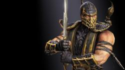 Scorpion Mortal Kombat HD 32725 2880x1800 px
