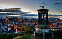 Edinburgh Scotland Wallpaper World Wallpapers