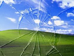 Broken Screen Wallpaper Photo