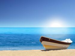 Boat Sea Beach Picture