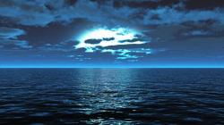 ... Blue Sea Wallpaper-7 ...