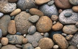 Sea Pebbles Wallpaper