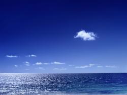 Blue Sea Wallpaper ...