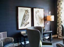 Bathrooms can be a challenge to accessorize, but using wallpaper allows you the freedom not to feel like you have to hang art or décor on every wall in the ...