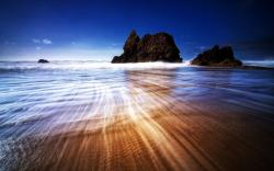 beauty of seascape Wallpaper
