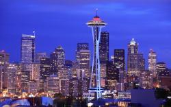 Seattle Skyline Wallpaper 21339